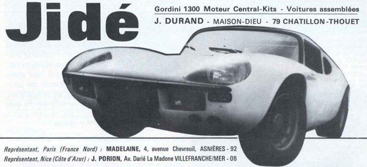 La publicité parue dans le magazine « Sport Auto »